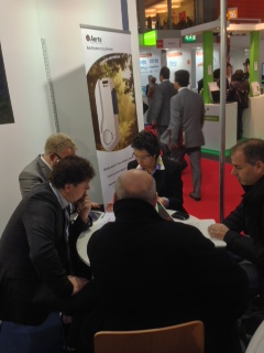 Meetings and scientific exchange at Medica